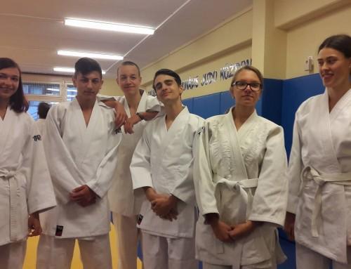Čazmanci na judo kampu u Mađarskoj