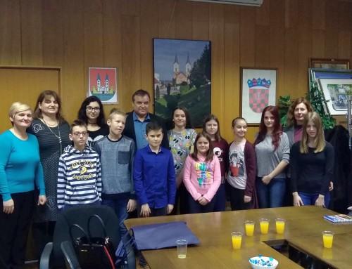 Predstavnici Dječjeg gradskog vijeća Grada Bjelovara posjetili Čazmu