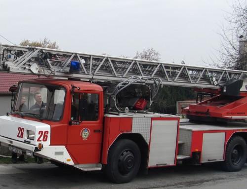 Pokazna vježba vatrogasnih dočasnika