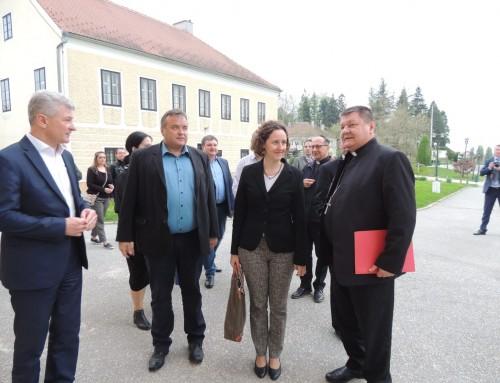 Ministrica kulture Nina Obuljen Koržinek posjetila Čazmu