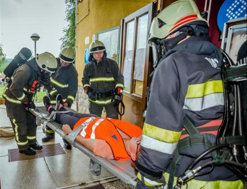 Vježba spašavanja u OŠ Čazma