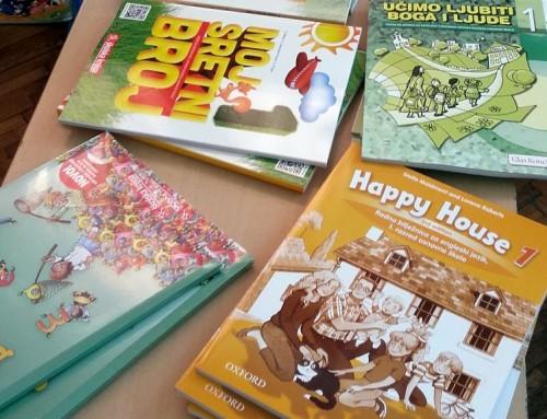 I ove godine besplatni udžbenici za sve učenike Osnovne škole Čazma