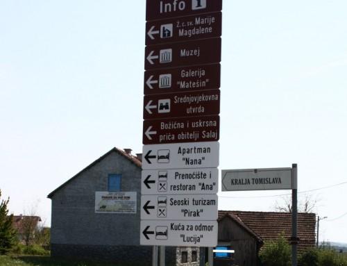 Nova turistička signalizacija u Čazmi