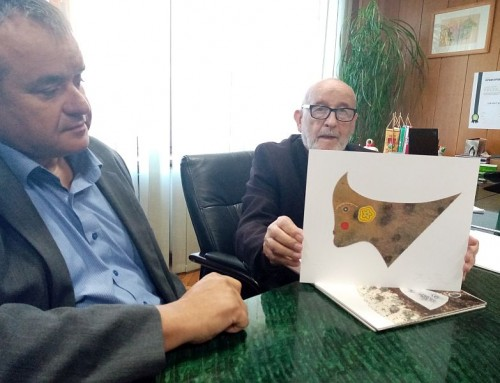 Akademski slikar Anton Cetin Gradu Čazmi daruje još 20 umjetnina