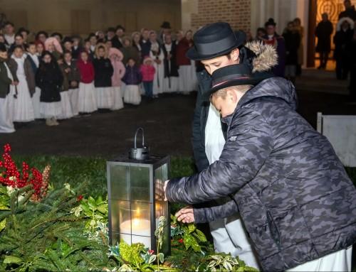 Upaljena 2. adventska svijeća