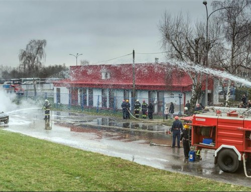 Prenamjenjuje se zgrada za tehnički pregled za potrebe JVP Čazma