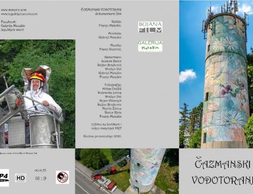 Dokumentarni film o oslikavanju čazmanskog vodotornja