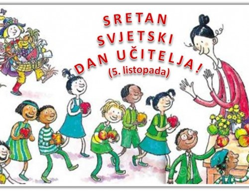 Čestitka u povodu Svjetskog dana učitelja