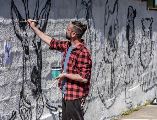 Naši umjetnici uljepšavaju naš grad!