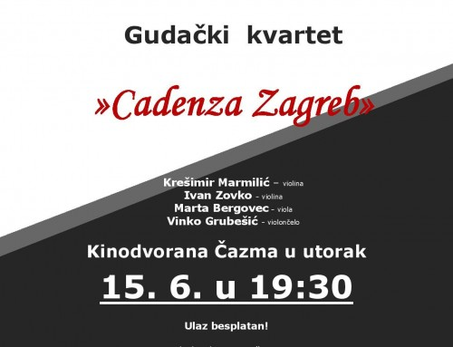 Koncert Gudački kvartet Cadenza Zagreb