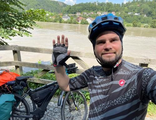 Ivan Rafaj biciklirao iz Njemačke u Čazmu