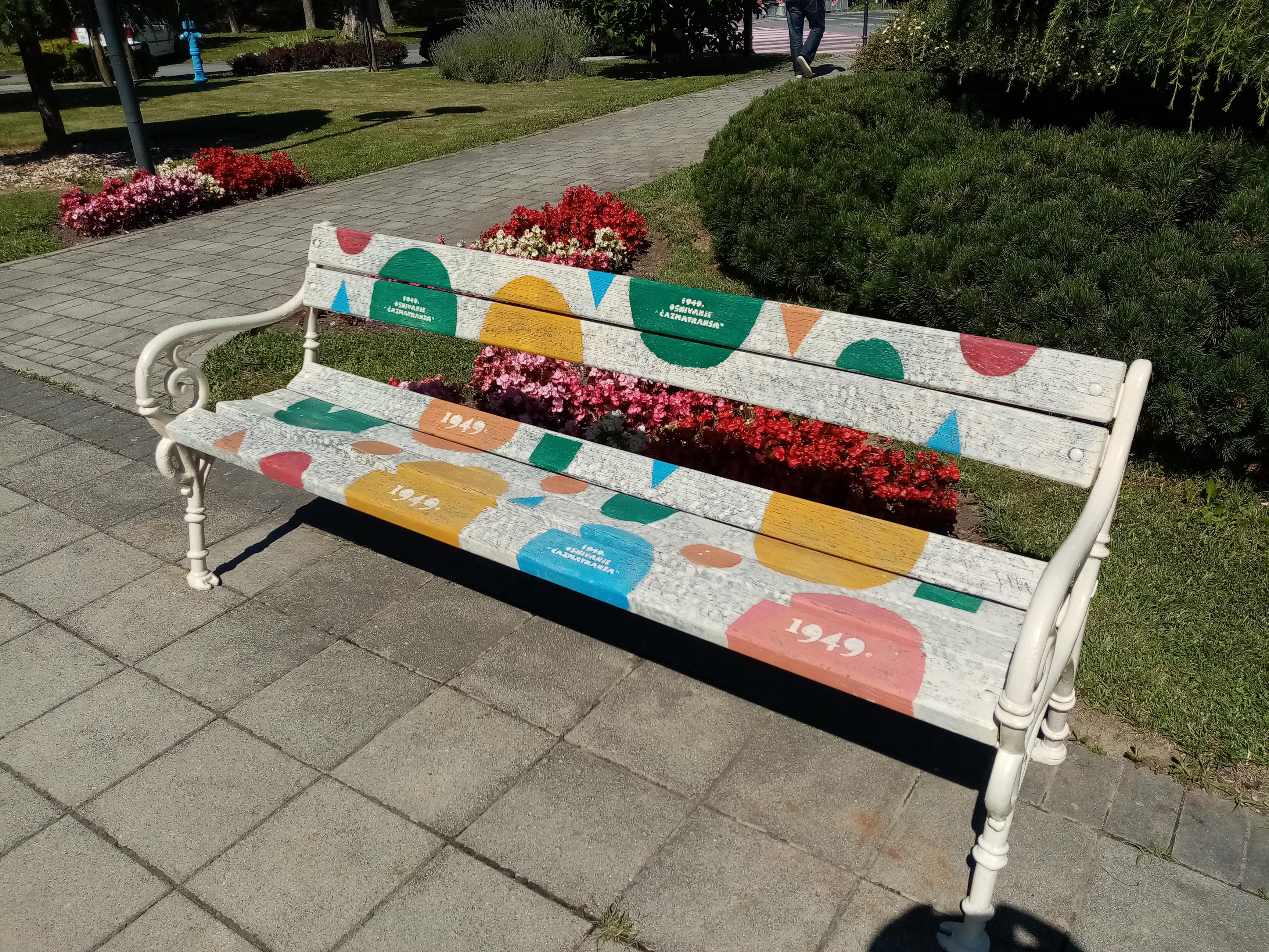 Obnovljene i ostale klupe u parku