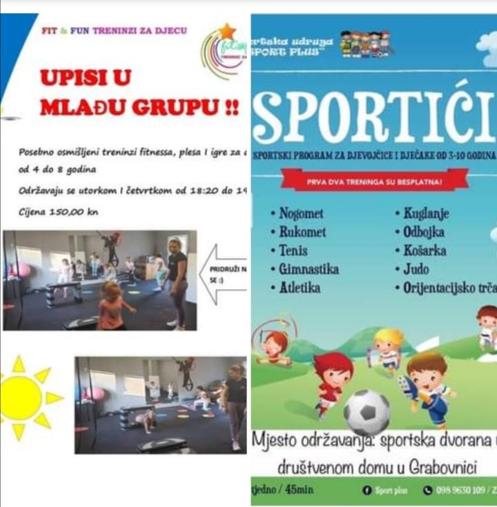 Novi sportski sadržaji u Čazmi za najmlađe