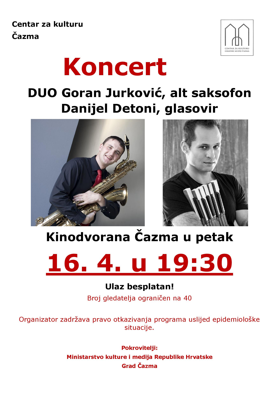 Koncert u Centru za kulturu