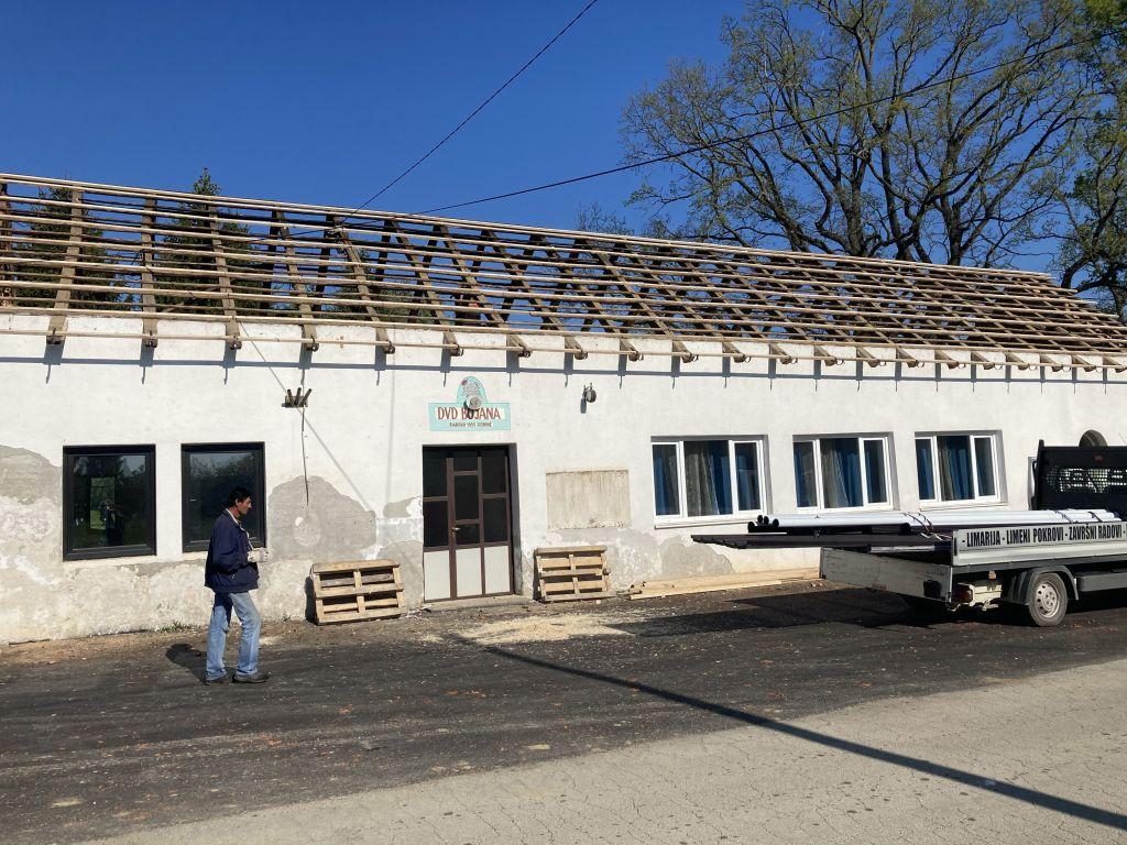 Počela obnova doma u Bojani